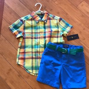Ralph Lauren Matching Sets - Ralph Lauren. Boys 3T shirt and shorts